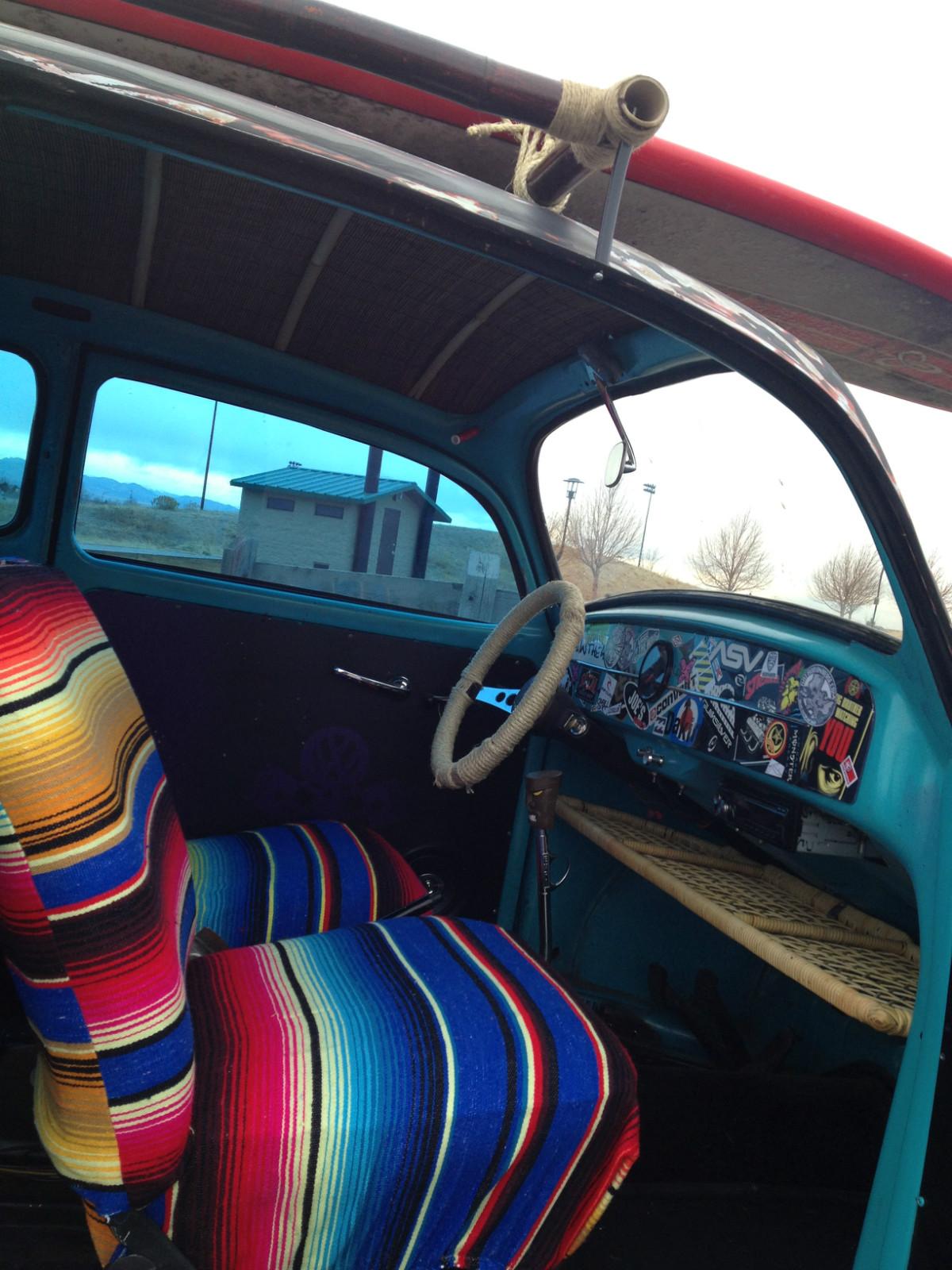 new interior 1964 vw volksrod rat rod universe. Black Bedroom Furniture Sets. Home Design Ideas
