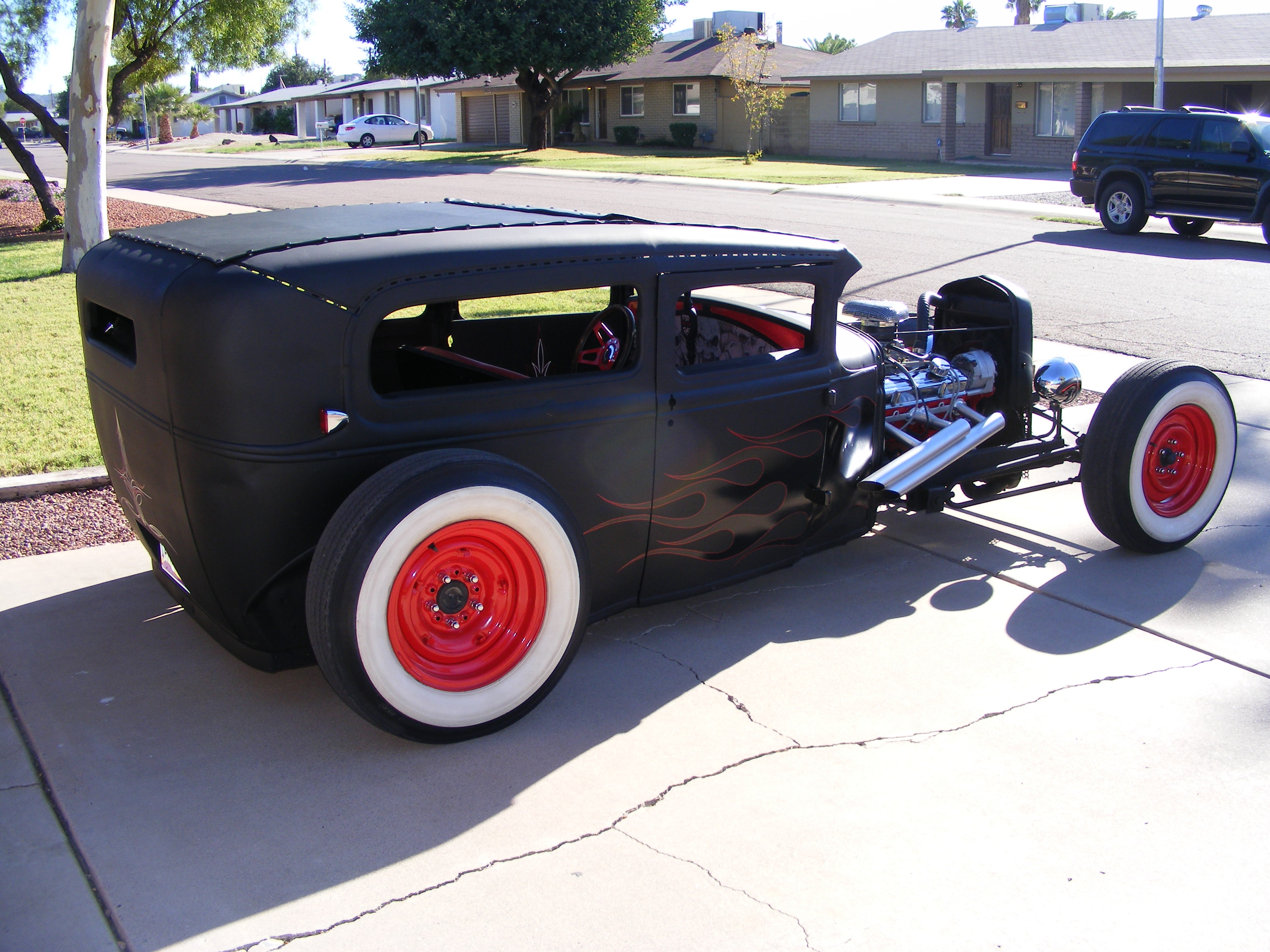 2 - 30 Model A Tudor Rat Rod - Russ Ellis Phx AZ - Rat Rod Universe