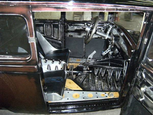 Interior Of The Rat Rod 1930 Model A Caddy Motor