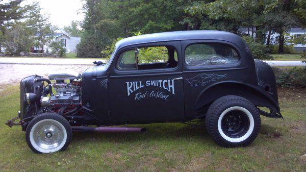 1936 chevy 2 door 4 seater kill switch milford nh for 1936 chevy 2 door