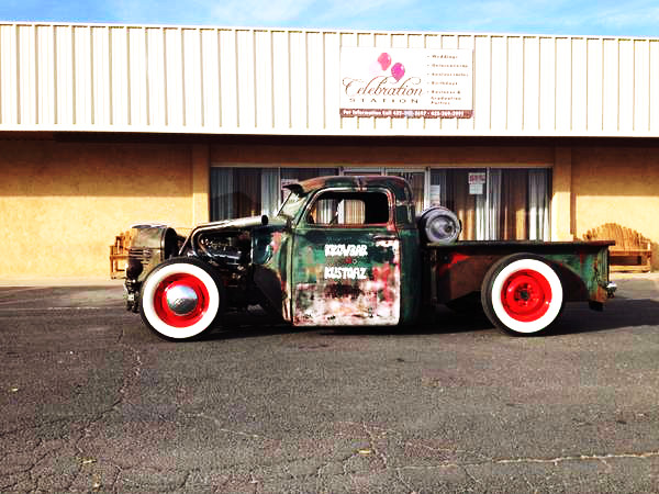rod chevy truck 1952 rat hot rod odessa tx 9 000 rat rod universe. Black Bedroom Furniture Sets. Home Design Ideas