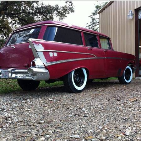 1957 wagon 9 000 1957 chevy 4 door wagon channelview for 1957 chevy 4 door wagon for sale