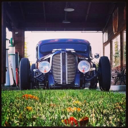1937 Front 1937 Killer Dodge Las Vegas Nv Rat Rod Universe
