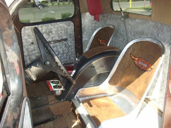 1948 rat rod truck seats 1948 dodge rat rod montclair ca 14 900 rat rod universe. Black Bedroom Furniture Sets. Home Design Ideas