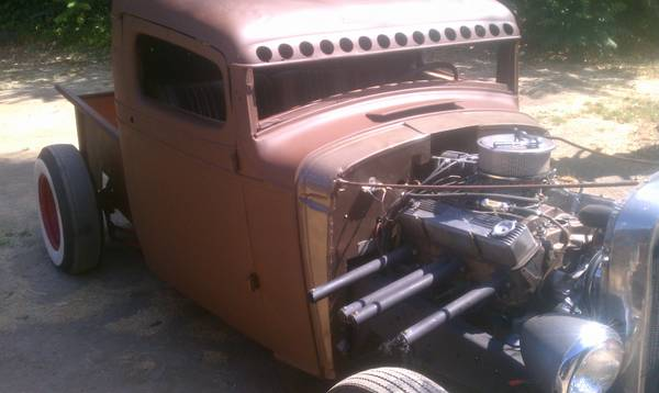 1934 Chevy truck, hot rod, rat rod - 1934 Chevy truck rat rod