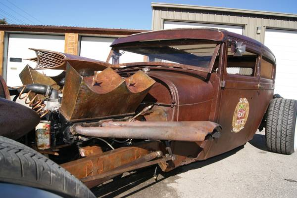 kustom one off car krazy kustom rat rod montana 14 500 rat rod universe. Black Bedroom Furniture Sets. Home Design Ideas