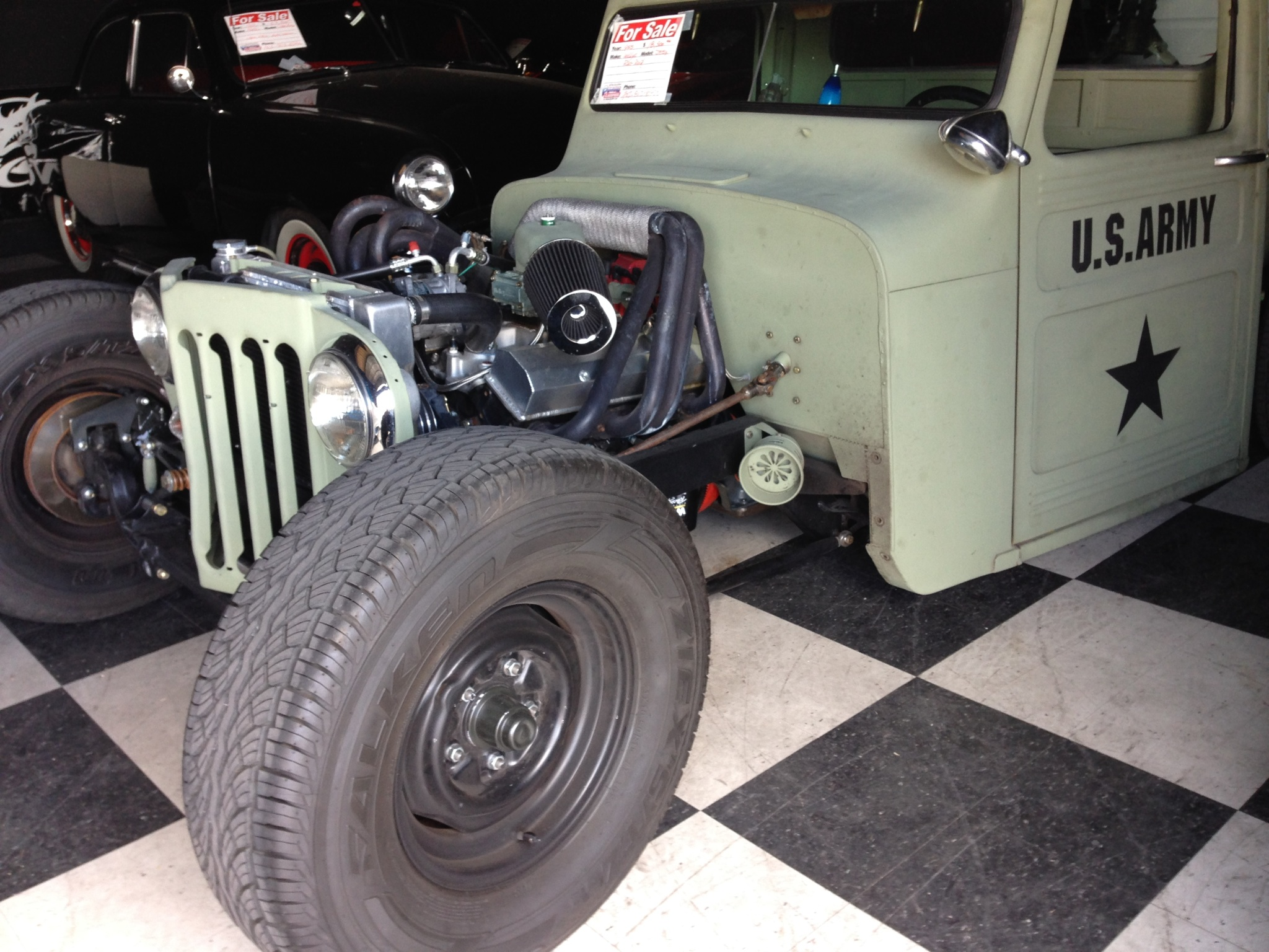 1955 custom rat rod jeep willy 39 s 1955 jeep willy 39 s rat rod rat rod universe. Black Bedroom Furniture Sets. Home Design Ideas