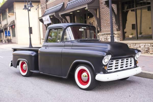 Suede Black 1956 Birmingham Al Chevy Apache 14 000