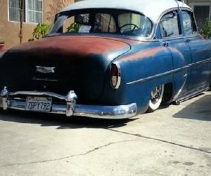 Bagged 1954 Bagged Chevy 10k Whittier Ca Rat Rod